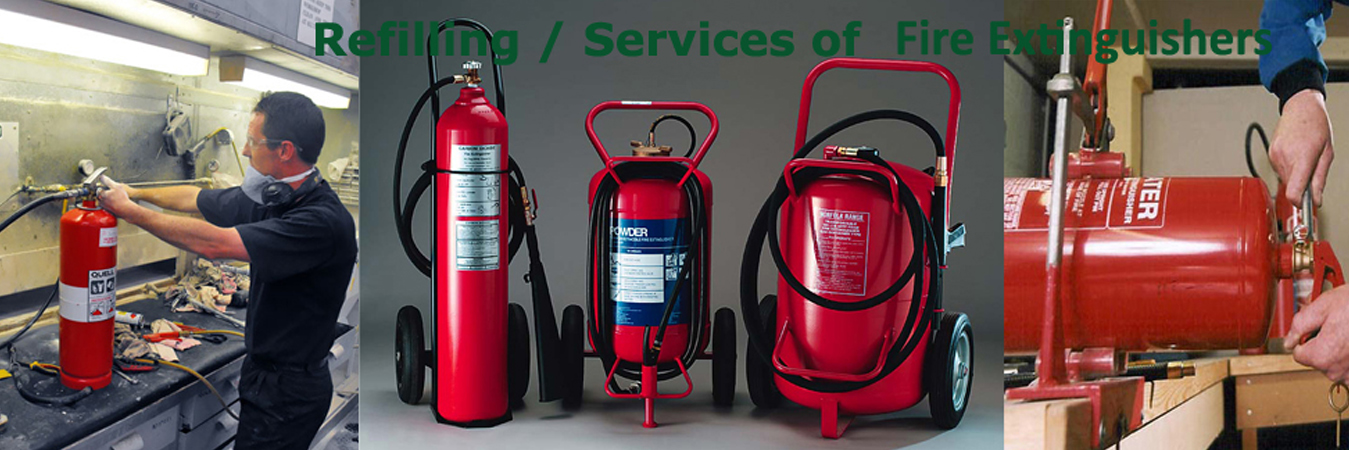 Refilling / Services of Fire Extinguishers